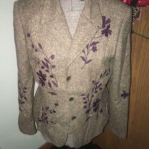 Vintage Iceberg vest top & blazer